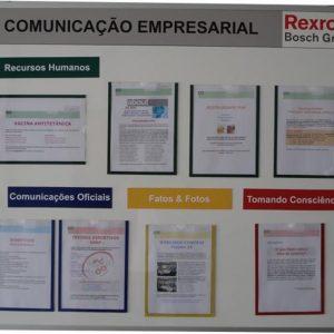 Quadro de Comunicação Empresarial - GVRH-11