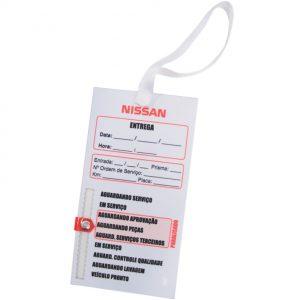 Gestão visual em placas de PVC indicativas para concessionárias - GCON-07