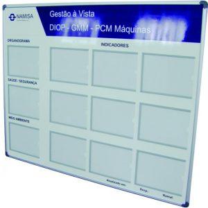 Gestão Visual com Indicadores de Meio-Ambiente e Segurança - GISO-27