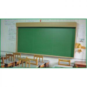 Quadro Escolar Verde com Iluminação Embutida - QVEV-03