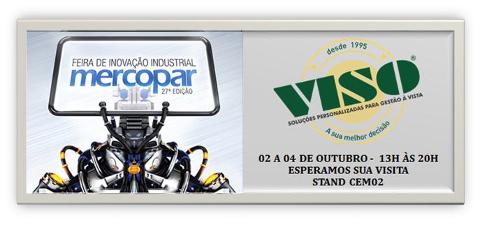 Viso – Gestão à Vista – estará presente na Feira Mercopar em Caxias do Sul – RS